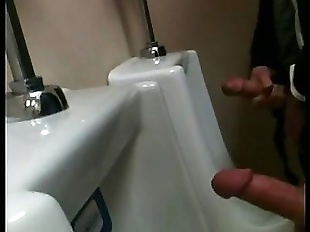 Urinal Jerk Off