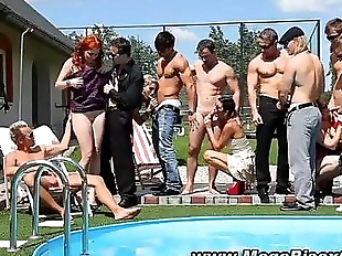 Naughty bisex orgy hunks and sluts