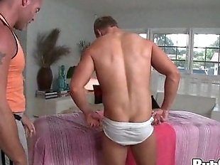 Rubgay Wet Amateur Ass Rubbing