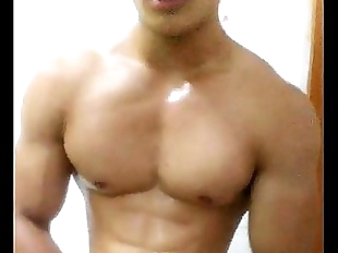 china chinese gay muscle guy young man amateur..
